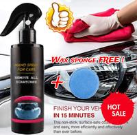 1xNano Car Scratch Remover Nano Spray Scratch Eraser Surface Repair+Sponge