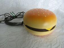 Retro Hamburger Phone Cheeseburger Telephone - Works!