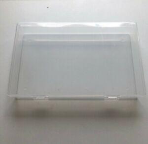 6 Pcs Transparent Mini Boîte de Rangement NEUF
