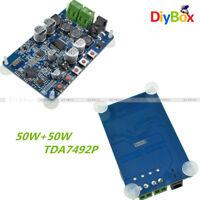 TDA7492P Bluetooth 4.0 CSR8635 Audio Receiver Digital Amplifier Board 50W+50W D