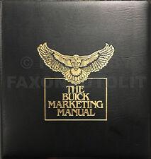 1985 Buick Dealer Album Grand National Regal Riviera Park Avenue Etc Marketing