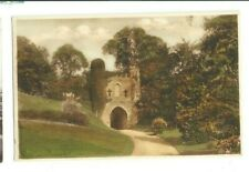 Postcard Reigate Castle Cobham Leatherhead Dorking