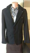 No Excess  jacket /Coat black men's  winter sz L @C blazer