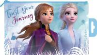 Disney Frozen 2 Trust Your Journey Shiny Plastic Flat Pencil Case Back to School
