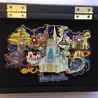 WDW - Four Park Super Jumbo Pin Collection - Magic Kingdom Disney Pin 48255