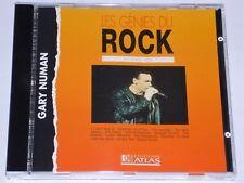 Gary Numan Techno-Pop Les Genies Du Rock 1995 (RK CD 511) FRENCH CD Near Mint