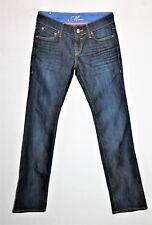 "Mavi Brand Dark Blue Straight Leg Denim Jeans Size 25"" LIKE NEW #SJ20"