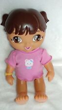 Dora The Explorer Potty Time Doll English & Espanol Works Baby Doll Interactive