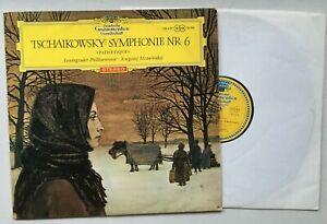 """MRAWINSKY/ TCHAIKOVSKY Symphonie Nr. 6 """"Pathetique"""" 138 659 SLPM RED STEREO"""