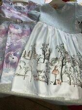 2 Lovely Christmas Dresses Age4/5