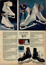 1974 ADVERTISEMENT 3 Pg Skates Ice Eaton Truline Lange Stan Mikita Bauer Daoust