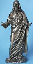 jesus,bronziert,29x13cm,figur,veronese,prediger,bibel,christentum,jesus christus