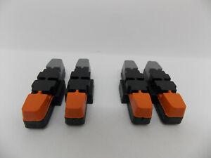 50mm//80mm ⭐ 2021 falkx fx2 2led Vélo Batterie Feu Arrière Slim 800 m-gepäckt