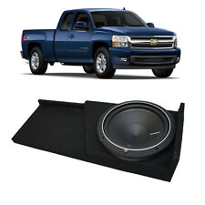 07-13 Chevy Silverado Truck Rockford Punch P1S212 Single 12 Sub Box 2 Ohm