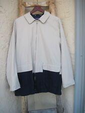London Fog Khak Ease Khaki Navy Coat Men's Size L Regular