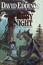 The Ruby Knight by David Eddings-Book 2 of the Elenium-1st Edition/DJ-1991