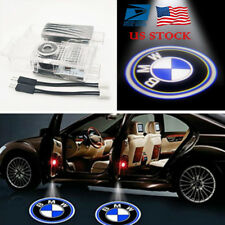 2X Car Door LED Laser Logo Projector Shadow Lights Ground Lamp for BMW 3/5/6/7/X