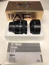 Nikon AF Nikkor 85mm f/1.8 252033(112)