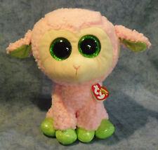 W-f-l Ty Buddy Leyla 22 Cm Lamb Sheep Easter Boos Glubschi Glitter Eyes