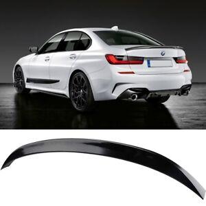 For 2019-2022 BMW 3-Series G20 330i M340i MP Style GLOSS BLACK Trunk Spoiler Lip