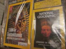 national geographic 132 avec DVD .  ADN de toutankhamon .