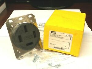 HUBBELL HBL7301A RECEPTACLE 4-POLE 4-WIRE NON-GRNDG 60A 120/208V 3 PHASE NIB