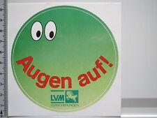Aufkleber Sticker LVM Versicherungen - Augen Auf - Münster (2043)