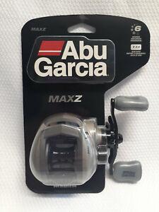 ABU GARCIA MAX Z BAIT CASTING REEL  7.1:1 - 6 BALL BEARING- GRAY- NEW