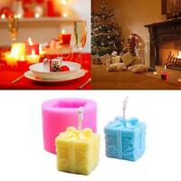 Soap Shaped For Aroma Christmas Gypsum Gift Mold Candle Silicone DIY Mould Craft