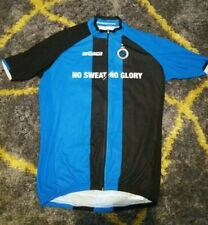 CLUB BRUGGE - Bioracer Cycling Jersey - RARE FOOTBALL CYCLE TOP Club Bruges