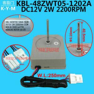 KBL-48ZWT05-1202A DC 12V 2200r/min Omar Refrigerator Fan Motor Kits Accessory