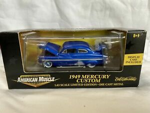 Ertl Collectibles American Muscle 1949 Mercury Custom 1:43 FREE SHIPPING