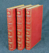 ROWLANDSON - 1815-17 - THE ENGLISH DANCE OF DEATH / LIFE - 3 VOLUMES -FINE