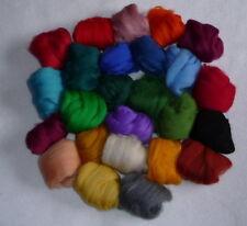 Merinowolle,Märchenwolle, Filzwolle, Filzen  , Farbauswahl aus 29 Farben