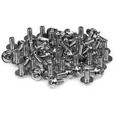 Startech PC Mounting Computer Screws M3 x 1/4in Long Standoff - 50 Pack