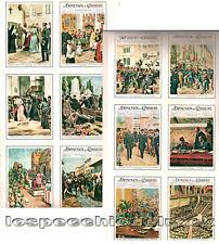 """Le miniature delle copertine de """" la domenica del corriere """"  LB49- 68"""