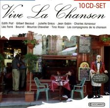 10 CD la chanson collection (piaf/GRECO/FERRE)