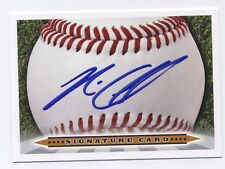 Nick Ciuffo Signature Card AUTO signed 2012 Perfect Game All-American TAMPA RAYS