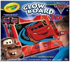 Crayola Glow Board 3-D Disney Pixar Cars 2