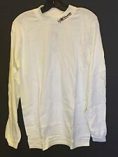 Men's Polaris Long Sleeve Racing Mock Turtle Neck in White (size M)