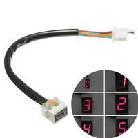 Motorbike Motorcycle LED Gear Level Indicator LED Digital Display Shifter Shift