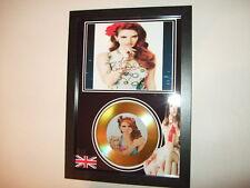 Lana Del Rey  SIGNED  GOLD CD  DISC   44
