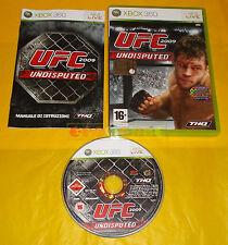 UFC UNDISPUTED 2009 XBOX 360 Versione Italiana 1ª Edizione ○○ COMPLETO - AI