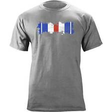 Distressed Silver Star Ribbon Veteran T-Shirt