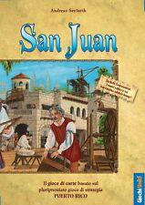 San Juan, Gioco di Carte Basato su Puerto Rico, Nuovo, in Italiano, Giochi Uniti
