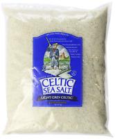 Light Grey Celtic Sea Salt 5 Pound Resealable Bag – Additive-Free, Delicious Sea