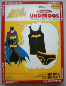 Batgirl Womens Junior Original Underoos - available in Small to xxL - New