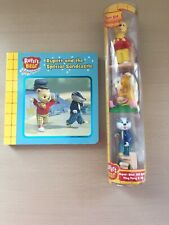 NEW 3 Figure Pack Ping Pong Bill Rupert Bear Special Sandcastle Board Book VGC
