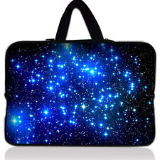 """15"""" 15.6"""" Galaxy Laptop Case Bag Carrying Sleeve For HP DELL Toshiba ASUS Sony"""