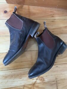 RM Williams Comfort Craftsman Boots Brown 7H Yearling